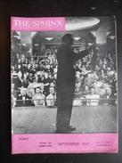 """Revue """"The Sphinx Vol.XLVI N°7 September 1947"""" - Divertissement"""