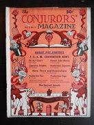 "Revue ""The Conjurors' Magazine Vol.3 N°6 August 1947"" - Divertissement"