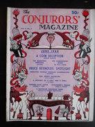 "Revue ""The Conjurors' Magazine Vol.4 N°4 June 1948"" - Divertissement"