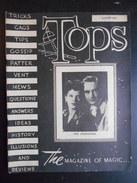 "Revue ""Tops The Magazine Of Magic August 1947"" - Divertissement"