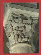 Eglise De ST NECTAIRE  - Chapiteau Du Choeur - St Nectaire Ressucite Le Seigneur Bradulus - Saint Nectaire