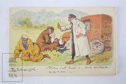 Old Illustrated Humor/ Comic Postcard - Automobilisme/ Motoing - Edited By Bourgeois Ainé. Paris - 1900-1949