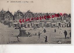 62 - BERCK PLAGE - LA PLAGE - Berck