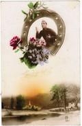 Romantic Card, WWI Soldier, Horse Shoe, Soldat Grande Guerre, Fer A Cheval (pk32245) - Men