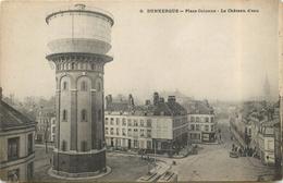 DUNKERQUE - Place Colonne, Le Château D'eau. - Châteaux D'eau & éoliennes