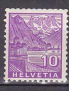 N° 273 Type De 1934 Papier Ordinaire Château De Chillon: 1 Timbre Neuf Impéccable Sans Charnière - Suisse
