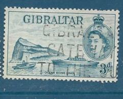 Gibraltar     - Yvert N° 144 Oblitéré     - Cw 19523 - Gibraltar