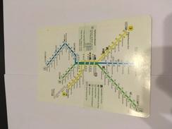 Transit Map Bielefeld - Subway Bus Tram - World