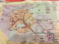 Transit Map Postdam - Subway Bus Tram - World