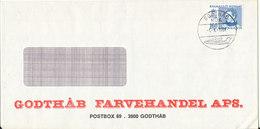 Greenland Cover Godthab 1-4-1981 - Greenland