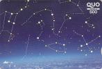 Carte Prépayée Japon - ESPACE ASTRONOMIE - Planète Galaxie - SPACE Japan Astronomy Prepaid Card - 868 - Astronomy