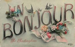 RADINGHEM - Un Bonjour,carte Fantaisie. - France
