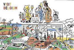 Belg. 2012 - COB N° 4216 Et 4217 ** - Visit Belgium (bloc 198) - Blocks & Sheetlets 1962-....