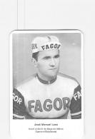 José Manuel LASA . 2 Scans. Cyclisme.  Fagor - Ciclismo