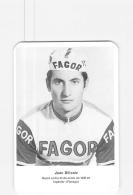 Juan SILLONIZ . 2 Scans. Cyclisme.  Fagor - Ciclismo