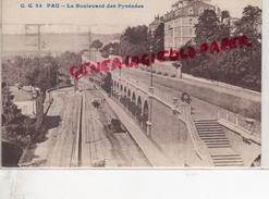 64 - PAU - LE BOULEVARD DES PYRENEES - Pau