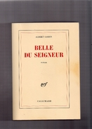 """ALBERT  COHEN  --  """"""""  BELLE  DU  SEIGNEUR  """"""""  --  GALLIMARD  1987  --   TBE......... - Livres, BD, Revues"""