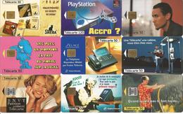 Télécartes Variées Par Lot  SOLDES 10 Centimes Pièces - Télécartes