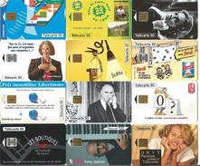 Télécartes Variées Par Lot - Télécartes