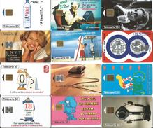 Télécartes Variées Par Lot - Phonecards