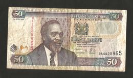 KENYA - CENTRAL BANK Of KENYA - 50 SHILLINGS / SHILINGI (2003) - KENYATTA - Kenia