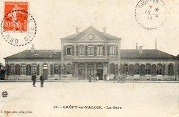 CREPY En VALOIS 60017 La Gare - France