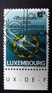 Luxemburg 1221 Oo/ESST, 100 Jahre Interparlamentarische Union