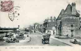 24   DIEPPE - Les Tourelles Et La Rue Aguado (Véhicules D'époque) - Dieppe