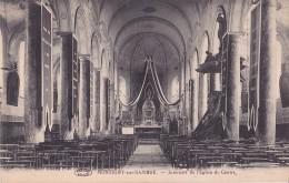 MONTIGNY-SUR-SAMBRE : Intérieur De L'église Du Centre - Ohne Zuordnung