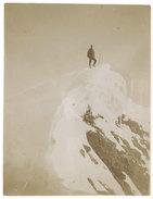 Photo Alpiniste Au Sommet De L'Eiger, 1904 - Luoghi