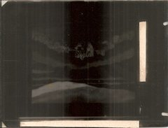 PLAQUE De VERRE ,,,OMBRES CHINOISES,,,,LA MARCHE A L' ETOILE,,,LA CRECHE , VOIR Le SCAN De La CP,,,,superbe Plaque - Plaques De Verre