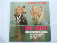 45T - Bill Haley Rock Around The Clock Shake Rattle And Roll Dim Dim The Lights Happy Baby - Vinyles