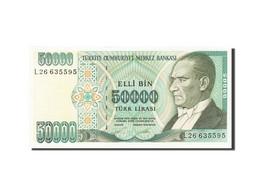Turquie, 50,000 Lira, 1984-1997, KM:204, 1995, SPL+ - Turchia