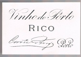 Etiqueta Vinho Do Porto - Rico - Etiketten
