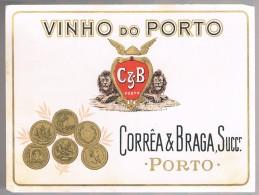 Etiqueta Vinho Do Porto - C&B - Etiketten