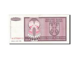 Croatie, 5 Million Dinara, 1993, KM:R11a, 1993, TTB+ - Croatia