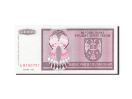 Croatie, 5 Million Dinara, 1993, KM:R11a, 1993, SPL - Croatia