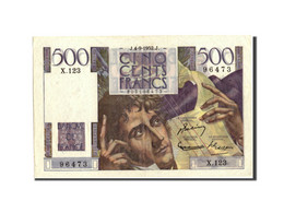 France, 500 Francs, 500 F 1945-1953 ''Chateaubriand'', 1952, 1952-09-04 - 1871-1952 Circulated During XXth