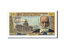 France, 500 Francs, 500 F 1954-1958 ''Victor Hugo'', 1954, 1954-09-02, KM:133a - 1871-1952 Circulated During XXth