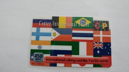 Israel-cip-(6)-international Calling Card-(450units)-1.11.2004-used Card - Israel