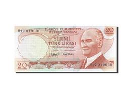 Turquie, 20 Lira, 1971-1982, KM:187a, 1974, NEUF - Turkey