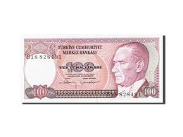 Turquie, 100 Lira, 1984-1997, KM:194a, 1984, SPL - Turquie