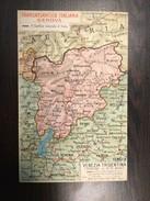 AK  MAP POSTCARD    TRANSATLANTICA ITALIANA  TRENTINO ED ALTO ADIGE - Bolzano (Bozen)