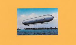 CPA - ZEPPELIN - REPRO CPA DE 1900 à BODENSEE  : ZEPPELINLUFTCHIFFES. - Zeppeline