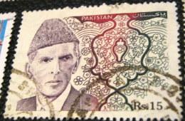 Pakistan 1994 Muhammad Ali Jinnah 15r - Used - Pakistan