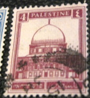 Palestine 1927 Dome Of The Rock 4m - Used - Palestine