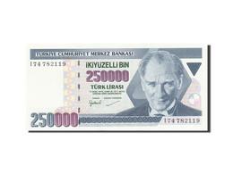 Turquie, 250,000 Lira, 1984-1997, KM:207, 1992, NEUF - Turkey