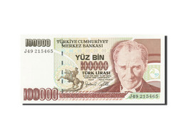 Turquie, 100,000 Lira, 1984-1997, KM:205, 1991, NEUF - Turchia