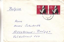 République Fédérale - Lettre De 1951 - Oblitération Giessen - Philosophe - Théologue - BRD
