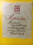 3181 - Suisse Grisons Lürlibader - Etiquettes